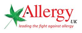 Allergy UK Logo and website link