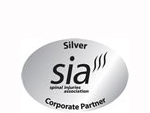 Corporate Partner (Silver) of SIA - Spinal Injuries Association